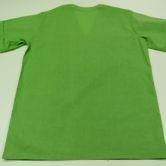 Блуза хирургическая мужская из ситца зеленого цвета, ТУ 858-5785-2005. Вид сзади