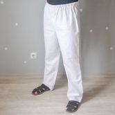 Брюки мужские (Комплект санитарно-хозяйственной одежды), ТУ 858-5783-2005 изв.1. Вид сбоку