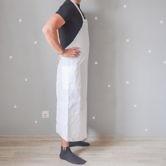 Фартук (Комплект санитарно-хозяйственной одежды), ТУ 858-5783-2005 изв. 1. Вид сбоку