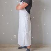 Фартук (Комплект санитарно-хозяйственной одежды), ТУ 858-5783-2005 изв. 1. Вид сбоку слева