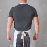 Фартук (Комплект санитарно-хозяйственной одежды), ТУ 858-5783-2005 изв. 1. Вид сзади