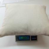 Подушка ватная, ТУ 78-502-80 изв. 1,2,3,4. Вес готовой подушки.