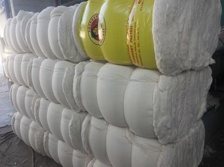 Вата хлопковая высокого качества из Узбекистана оптом под заказ от 10 тонн