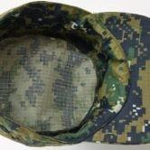 Головной убор (кепи) камуфлированного цвета для сотрудников Следственного комитета РФ. Вид изнутри.