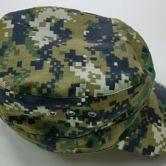 Головной убор (кепи) камуфлированного цвета для сотрудников Следственного комитета РФ. Вид сверху.